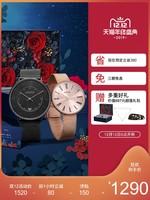 ADEXE英國手表情侶表一對價時尚簡約潮流男女對表禮物DW手表