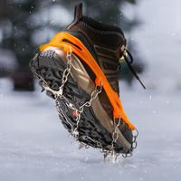 KORAMAN KR-FS8S08810 戶外冰爪防滑鞋套男女戶外登山釘鞋