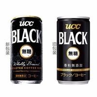 UCC 悠诗诗 即饮无糖黑咖啡 185g*6罐