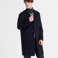 UNIQLO 优衣库 419982 男士羊毛混纺长大衣