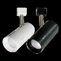 雷士照明 led軌道燈商用服裝店鋪導軌射燈  12瓦 暖白光