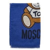 MOSCHINO 莫斯奇諾 女士時尚小熊印花圍巾 *2件