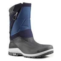 迪卡儂 QUECHUA 徒步冬季保暖防水男士雪地靴
