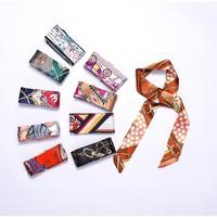 奢芙蘭 手柄絲巾 包戴配飾 多款可選 100*4cm