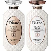 中亚Prime会员:Moist Diane 黛丝恩 无硅香水贵油系列 极致闪亮 洗护套装(洗450ml+护450ml) *4件