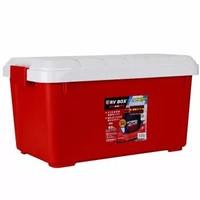 IRIS 愛麗思 RVBOX600 車載收納箱 40L 紅/白色 *3件