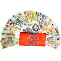 中郵收藏 世界紙幣硬幣錢幣收藏 壓歲錢紅包 20國28張