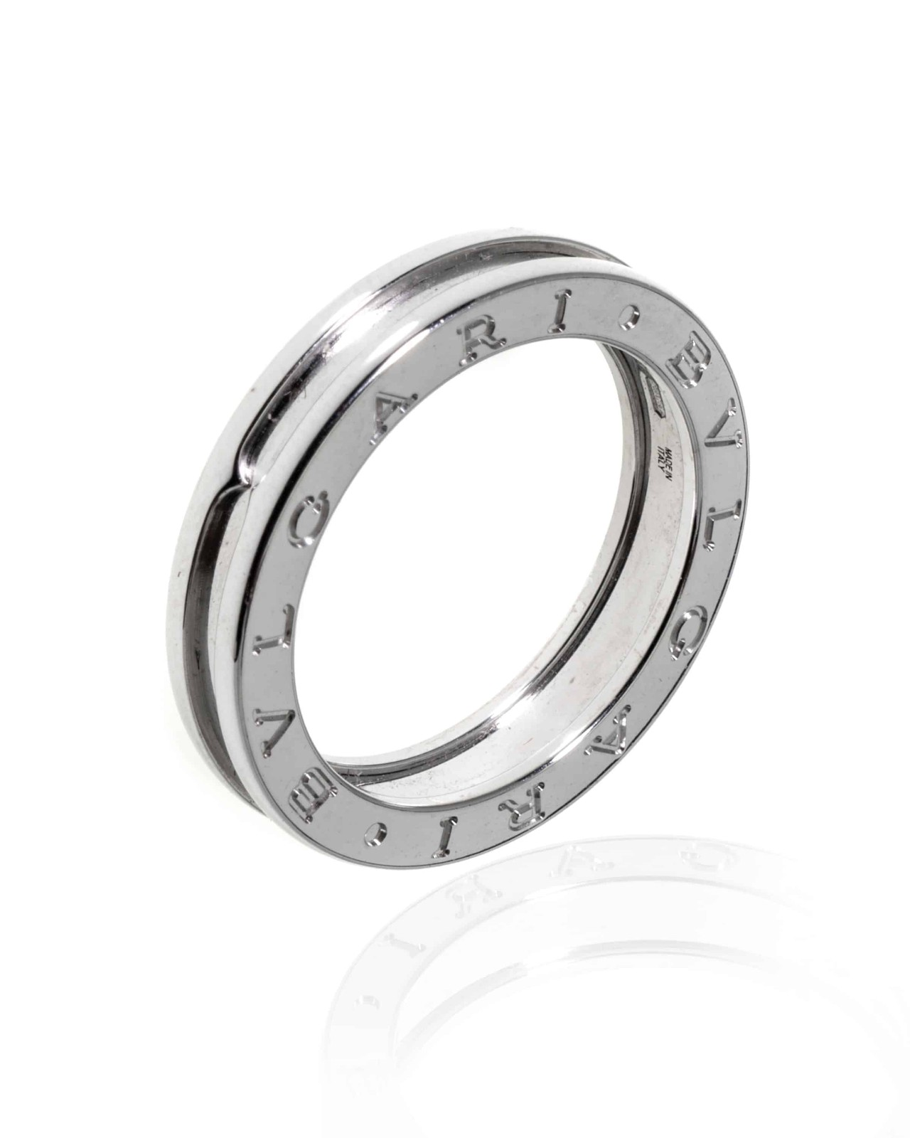 Bvlgari B Zero AN852423 18k白金戒指