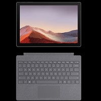 Microsoft 微软 Surface Pro 7 12.3英寸平板电脑 (i5、8GB、128GB)含键盘盖