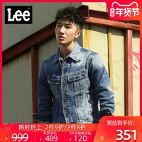 Lee L298312237EN 男士牛仔夹克