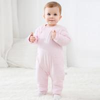 Cottonshop/棉店  加厚嬰兒連體衣
