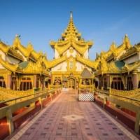 旅游尾单:0自费!广州-缅甸曼德勒+蒲甘+敏贡5-6日跟团游