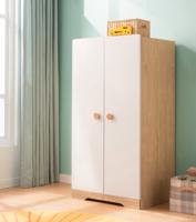 林氏木業 DE1D 現代簡約兩門兒童衣柜