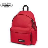 Eastpak 依斯柏學生書包休閑雙肩背包純色韓版運動背包戶外雙肩包旅行包 紅色EK56C98M 隔層版