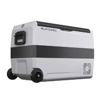 冰虎車載冰箱壓縮機制冷凍冷藏分區雙溫雙控12V24V貨車家兩用冰柜