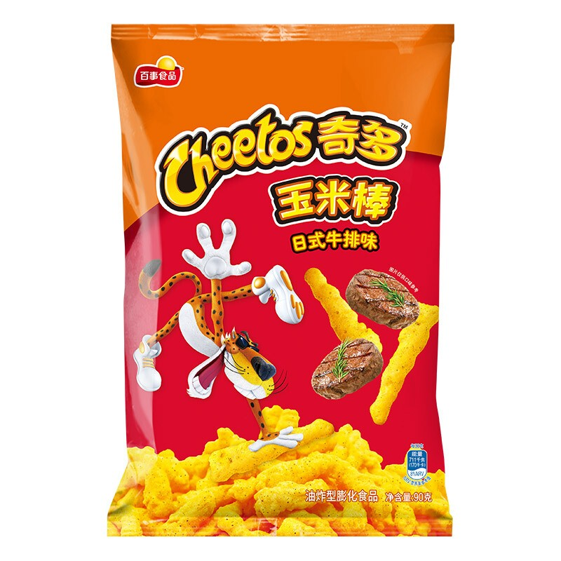 奇多(Cheetos) 粟米棒 日式牛排味90克