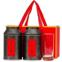 川盟 武夷山岩茶金骏眉正山小种1号红茶茶叶礼盒 500g *2件