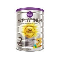 【限量临期品】A2 艾尔 白金版婴儿配方奶粉2段(6-12个月)900g/罐