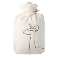 HUGO FROSCH 羊驼毛绒外套热水袋 白色 1.8L