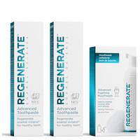 銀聯專享 : REGENERATE 修復牙釉質 美白套裝(牙膏75ml*2+漱口水50ml) *3件