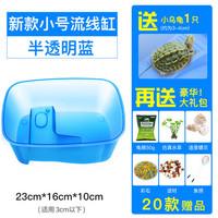 Yee 烏龜飼養盒+烏龜+龜糧