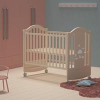 BabyCare 婴儿无漆实木床