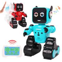 美幫匯 電動遙控智能早教編程機器人 129  藍色