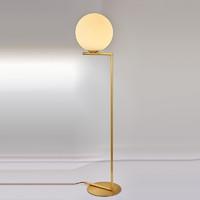 蘭亭集勢美式全銅落地燈創意魔豆客廳臥室書房北歐后現代簡約燈具