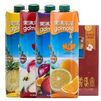 京東PLUS會員 : gomolo 果滿樂樂 100%果汁 禮盒 4L *2件