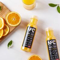 農夫山泉100%NFC橙汁300ml*24瓶/箱非濃縮還原果汁禮盒