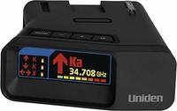 Uniden R7 Xtreme長距離激光/雷達探測器,內置GPS,帶自動學習模式,雙天線前后帶方向箭頭,語音警報,紅色光攝像頭,速度相機警報,OLED 顯示