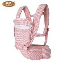 歷史低價 : ?L-LIANG 良良 嬰兒多功能背帶 坐凳前抱式 *2件