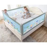 M-Castle 嬰兒床護欄 冰綠色  單面  2m  *3件