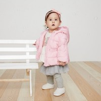 Gap 蓋璞 382853 嬰兒加厚棉服