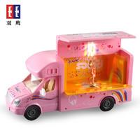 雙鷹 兒童仿真遙控玩具車 帶音樂車模舞臺車 E669-001