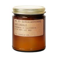 美國進口P.F. CANDLE Co香薰蠟燭手工植物臥室大豆蠟無煙PF香氛*3件