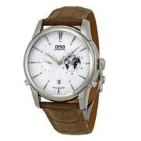 ORIS 豪利仕 690-7690-4081LS 男士自动机械手表 42mm 不锈钢 银白色 圆形