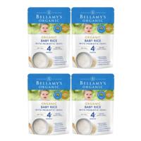 Bellamy's 貝拉米 有機嬰幼兒米粉 4個月以上 125g *4件