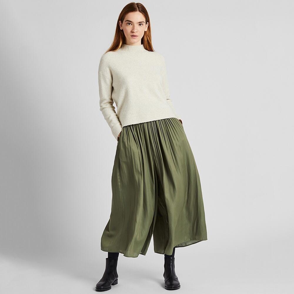 UNIQLO 优衣库 425352 女士打褶裤