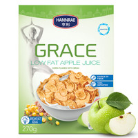 HANNRAE 亨利  低脂蘋果汁玉米片 270g *13件