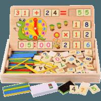 多功能數學運算學習盒 (蝸??睿﹥群?00小棒 送6張口決卡