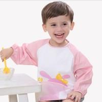 序言 0-3歲寶寶吃飯長袖罩衣 2件裝