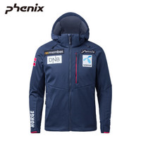 phenix菲尼克斯中層滑雪服男士保暖沖鋒衣世界杯選手款 藏藍色-NV L
