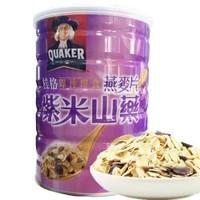 QUAKER 桂格 麥片 谷物早餐 即食紫米山藥燕麥片 700g *6件