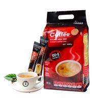 西貢咖啡  三合一速溶咖啡粉原味咖啡沖飲  108條1620克袋裝 *2件