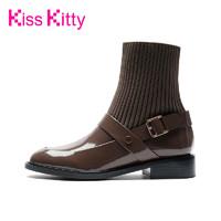 Kiss Kitty 短靴襪子切爾西靴