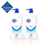 舒膚佳 沐浴露 純白清香 1L*2支 不含皂基 溫和親膚 沐浴乳 沐浴液 *4件
