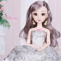 ZeusHera 妮艾拉公主夢幻洋娃娃14英寸女孩兒童玩具生日禮物 *2件