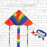 麗達 濰坊兒童風箏 小彩虹+30米線板