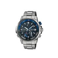 CASIO 卡西欧 OCEANUS OCW-P1000-1AJF 男士石英太阳能手表 43mm 蓝黑色 圆形